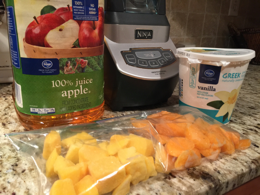 mango orange smoothie ingredients